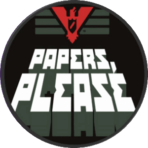 logo del videojuego papers please