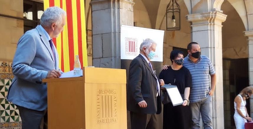 Entrega del premio Creu Casas 2020 al proyecto #ChicasInTech