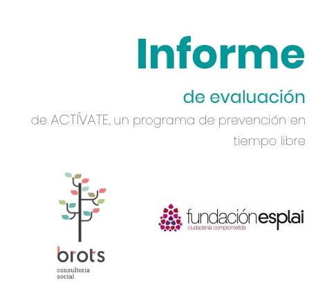 Portada del informe sobre el programa Activate